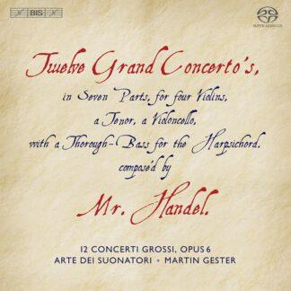 Photo No.1 of Georg Friedrich Händel: Concerti grossi op.6 Nr.1-12