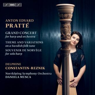 Photo No.1 of Anton Edvard Pratte: Grand Concert for harp and orchestra