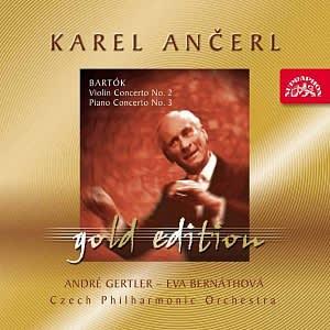 Photo No.1 of Karel Ancerl Gold Edition Vol.22. Bartók - Violin Concerto No.2, Piano Concerto No.3