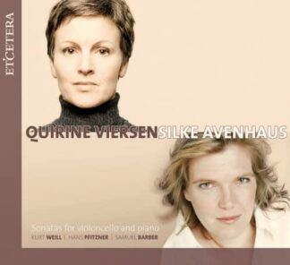 Photo No.1 of Sonatas for Cello & Piano by Quirine Viersen & Avenhaus