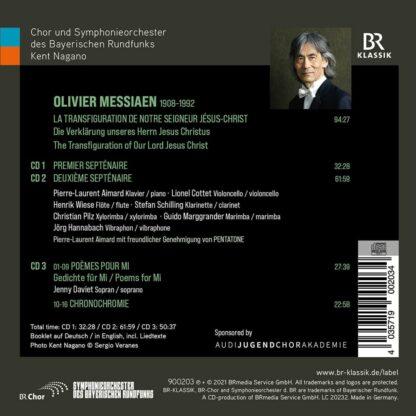 Photo No.2 of Olivier Messiaen: La Transfiguration de Notre Seigneur Jesus-Christ; Poemes pour Mi & Chronochromie
