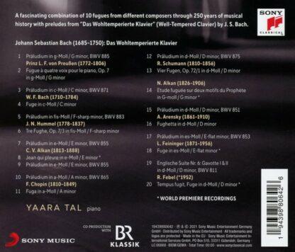 Photo No.2 of Yaara Tal - Tracing Bach