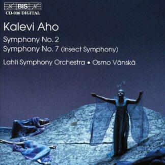 Photo No.1 of Kalevi Aho: Symphonies Nos 2 & 7 'Insect Symphony'