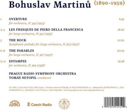 Photo No.2 of Bohuslav Martinů: Orchestral Works