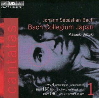 Photo No.1 of Johann Sebastian Bach: Cantatas Vol. 1 (BWV 4, 150, 196)