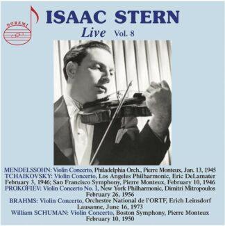 Photo No.1 of Isaac Stern - Live Vol.8