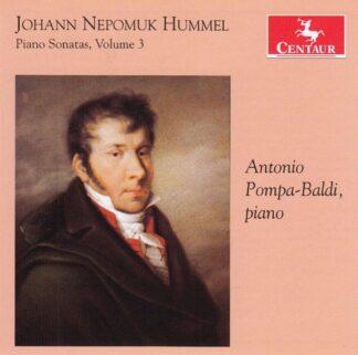 Photo No.1 of Johann Nepomuk Hummel: Piano Sonatas, Vol. 3