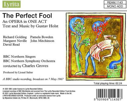 Photo No.2 of Gustav Holst: The Perfect Fool