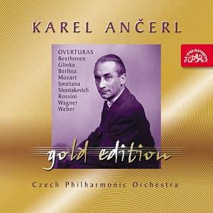 Photo No.1 of Ančerl Gold Edition 29 - Beethoven, Glinka, Berlioz, Mozart, Smetana, Shostakovich, Rossini, Wagner & Weber: Overturas