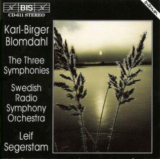 Photo No.1 of Karl-Birger Blomdahl - The Three Symphonies