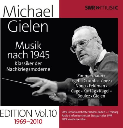 Photo No.1 of Michael Gielen Edition Vol. 10: Music after 1945