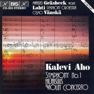 Photo No.1 of Kalevi Aho: Symphony No. 1, Violin Concerto & Hiljaisuus