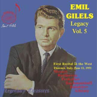 Photo No.1 of Emil Gilels Legacy, Vol. 3: 1975 Helsinki Recital (Live)