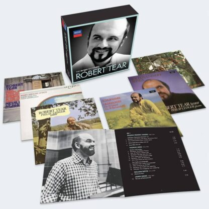Photo No.1 of Robert Tear - The Argo Recitals